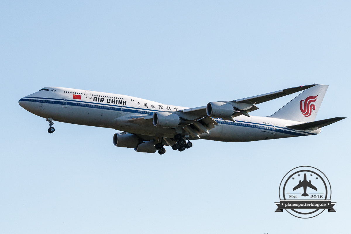 FRA - Ein Tag an der 18 West Boeing 747-8i AirChina
