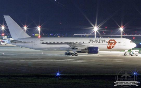 Rolling Stones und Boeing B727