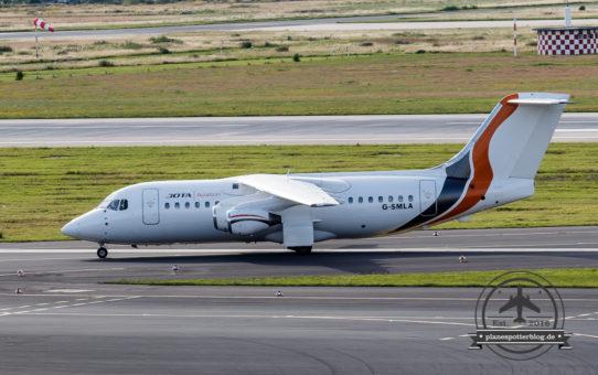 10.07.2016 DUS Warten auf JOTA Aviation